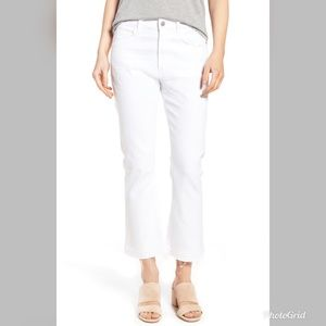 Citizens of humanity drew high waist crop jeans
